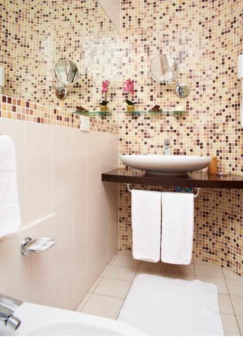 Bagno camera tripla - Hotel Sirio a Lido di Camaiore in Versilia, Toscana