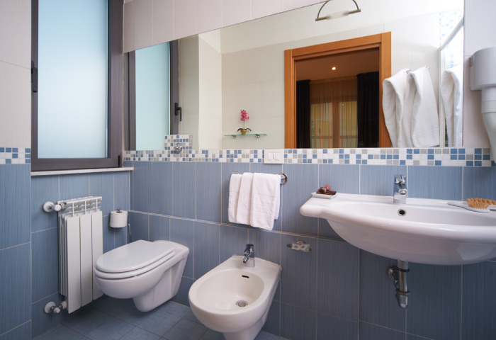 Camera tripla con culla - Hotel Sirio a Lido di Camaiore in Versilia, Toscana