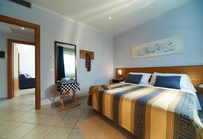 Foto camera appartamento bilocale residence - Hotel Sirio a Lido di Camaiore in Versilia, Toscana