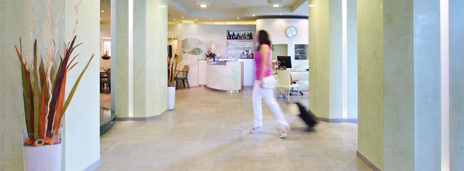 Foto della reception - nHotel Sirio a Lido di Camaiore in Versilia, Toscana