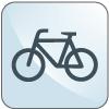 Icona servizio di noleggio bici - Hotel Sirio a Lido di Camaiore in Versilia, Toscana