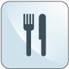 Icona servizio ristorante - Hotel Sirio a Lido di Camaiore in Versilia, Toscana